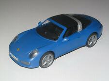 Playmobil Accessoire Décor Voiture Sport Porche 911 Bleu 25 cm NEW