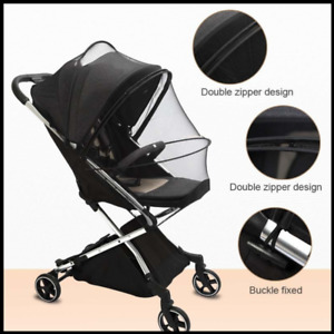 New Cat Dog Jogging Stroller 4 Wheels Mosquito Net Protection Summer Mesh