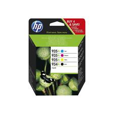 ORIGINAL HP PatronenSet Nr. 934XL/935XL - X4E14AE alle Farben + schwarz *NEU*