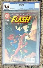 CGC 9.6 DC Comics FLASH #209 (6/04) wp MICHAEL TURNER COVER Superman Flash Race