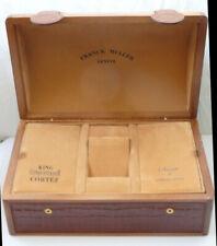 FRANCK MULLER CUSTODIA  BOX ETUI CONQUISTADOR KING CORTEZ new origi Uhr Watchbox