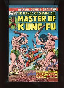 "1975 Marvel, "" Master of Kung Fu "" # 25, MVS intact, U-PICK, VF to VF/NM, BX82"