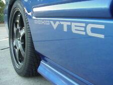 Honda Vtec DOHC VTEC Civic  Type R EF EG 99-00 JDM All HONDA Sides stickers