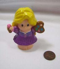 New Fisher Price Little People Disney PRINCESS RAPUNZEL Hair CASTLE w/ PAINTS