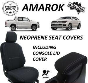 VOLKSWAGEN AMAROK FRONT& REAR FULL BACK  NEOPRENE SEAT COVERS ( WETSUIT FABRIC )