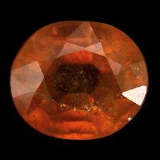 TOP SAPPHIRE : 7,88 Ct Natürlicher Gelb Orange Saphir aus Madagaskar