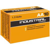 50x MN1500 IN1500 LR6 Mignon AA Duracell industrial Alkaline-Batterien im Karton