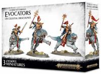 Evocators Celestial Dracolines Warhammer Stormcast Eternals on Age of Sigmar