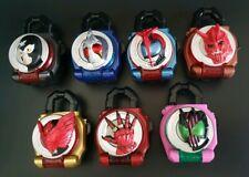 Kamen Masked Rider Gaim Legend LOCKSEEDS set of 08 Bandai Japan Lock Seed SG