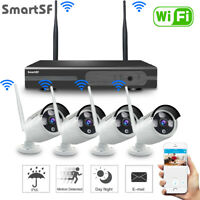 SmartSF 8CH Wireless 1080P NVR Outdoor Home WIFI Camera CCTV Security System Kit
