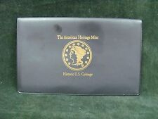 American Heritage Mint Historic US Coinage - No Motto Collection