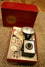 Vintage Ansco Shur-Flash Outfit Camera in Box Manual