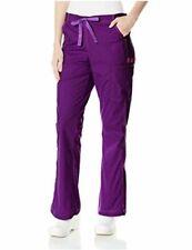 WonderWink Women's Plus Wonderflex Grace Scrub Pant, Eggplant, Size Xx-Large tq