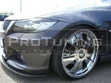 BMW e90 e91 3 series eyebrows headlight spoiler lightbrows eye lids brows covers