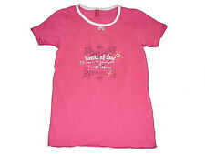 Esprit tolles T-Shirt Gr. 116 / 122 rosa mit Druckmotiv !!