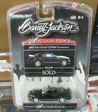 Greenlight Auction Block Barrett Jackson 2007 Ford Shelby GT500 Convertible 1:64