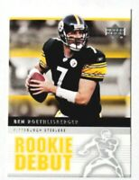 2005 Upper Deck Rookie Debut Ben Roethlisberger #76