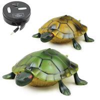 Lifelike High Simulation Animal Tortoise Infrared Remote Control Kids Toys Gift
