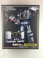 Transformers Masterpiece MP-13 Soundwave Communication Action Figure in stock