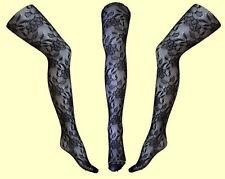 Netzstrumpfhose Nylonstrumpfhose mit Muster Gr. XS, S, M, L, XL # 67