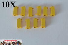 10X Lego 3581 Scharnier, Türangel, Pfosten, Halter, 1X1X2, Gelb, Yellow