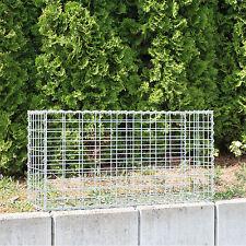 Gabione 100x50x30 cm Steingabionen Steinkorb Mauer Gabionen Maschung 10x5 cm