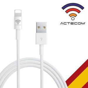 ACTECOM® CABLE USB PARA IPHONE 6 / IPHONE 7 / IPHONE 8 PLUS IOS11 CARGA DATOS