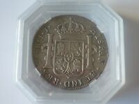 MEXIQUE MEXICO - FERDINAND VII 8 Reales 1821 Mexico GENI XF Details