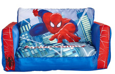 Spiderman Flip out Sofa Childrens Extends Lounger Bed Official