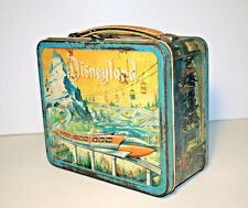 Disneyland - Monorail/Submarine  -  vintage metal lunchbox (RARE)
