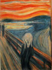 Oil Painting repro on Canvas Edvard Munch The Scream 36''X48''