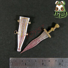 Crazy Owners 1/6 Roman Battle_ Dagger / Pugio + scabbard _Toys ancient COX06C