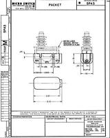 Micro Switch - (Basic Switch Cover) Packet - 5PA3