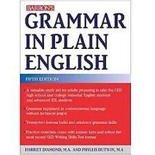 NEW - Grammar in Plain English by Diamond, Harriet; Dutwin, Phyllis