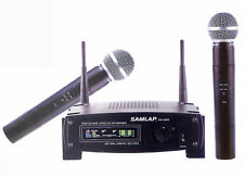 Brand New 2x Professional Dynamic Wireless Microphone System Effective field 50M