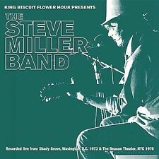 King Biscuit Flower Hour Presents the Steve Miller Band 2 CD Rare Like New