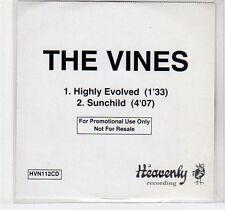 (EF81) The Vines, Highly Evolved / Sunchild - DJ CD