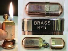 Briquet ancien @ Brasse N°5 Vénitien forme Poilu @ Lighter Feuerzeug Accendino