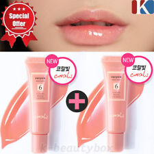 1+1 LIP GLOSS Moisture Full Lip Gloss 10ml CORAL  Lip Stain Korean Cosmetics AA3
