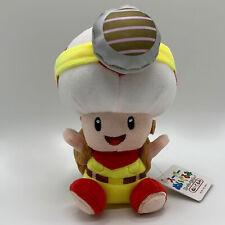 "Super Mario Captain Toad Plush Soft Toy Treasure Tracker Doll Teddy 7.5"""