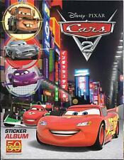 Disney Pixar Cars 2 Panini Sticker Album