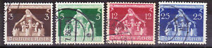 Germany Deutsches Reich 1936 Mi. Nr. 617-620 Local Government Congress USED