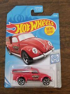 Hot Wheels '49 Volkswagen Beetle Pickup Red Tire Shop  VHTF