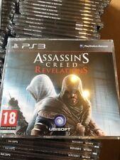 PS3 Assassins Creed Revelations Juego de promoción (completo juego promocional) Ubisoft PAL