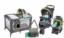 Baby Stroller Car Seat  Infant Toddler Playard Crib Travel System Combo Set New