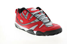 ES Sparta 5101000176607 Mens Red Leather Skate Inspired Sneakers Shoes