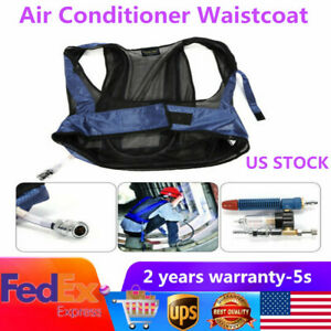 Welding Steel Air Compressed Cooling Vest Vortex Tube Conditioners for Workers
