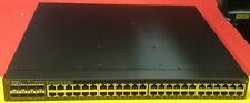 Brocade Icx 6610 Icx6610-48-Pe 48 Port Gigabit Switch 4xAvailable