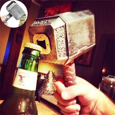 Antique Beer Bottle Opener THOR'S MIGHTY HAMMER Corkscrew for Dinner Bar Party
