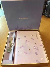 Starbucks Lavender Notebook Set Loveliness Purple Collect Set 2017 Gift With